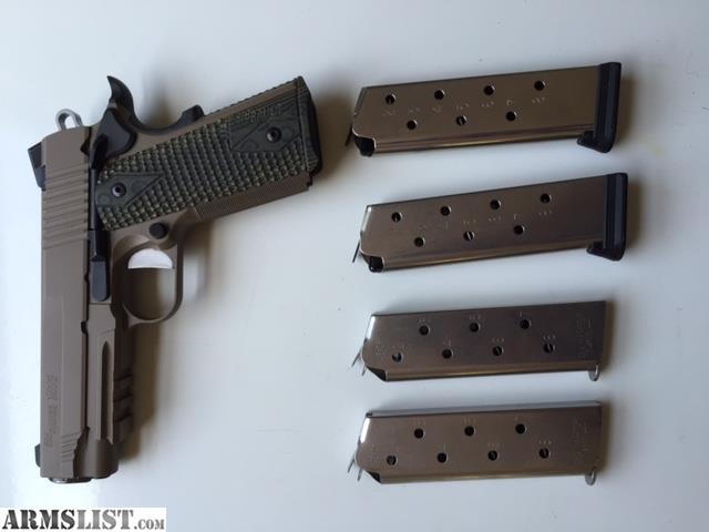 Armslist For Sale Sig Sauer 1911 Scorpion Carry
