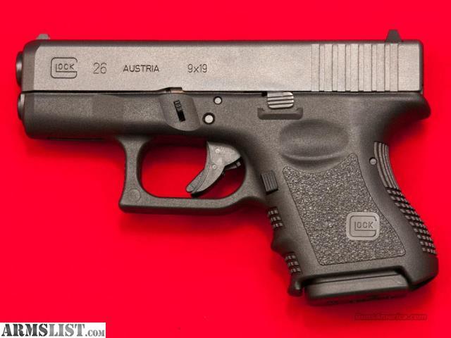 ARMSLIST - For Sale: Glock 26 9mm