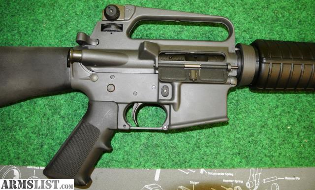 Excellent condition Colt model 6551 AR15 Sporter Target. This gun has never  been fired!! The Colt Sporter is a name Colt gave the civilian version of  its ...