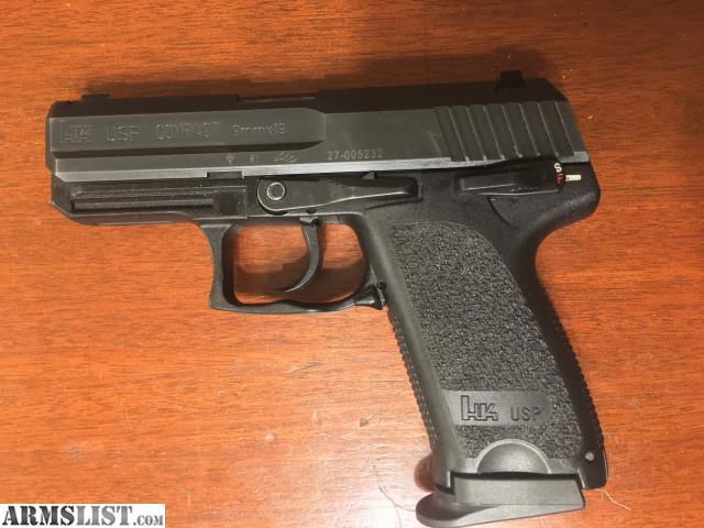 ARMSLIST - For Sale: H&K USP Compact 9mm