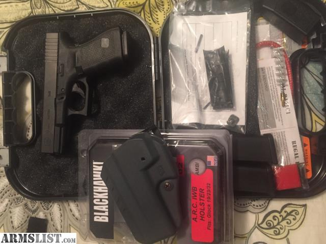 armslist for sale glock 19 gen4 w aiwb holster