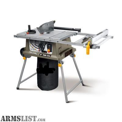 Table Saw Router : ARMSLIST - For Sale: contractor table saw and plunge router
