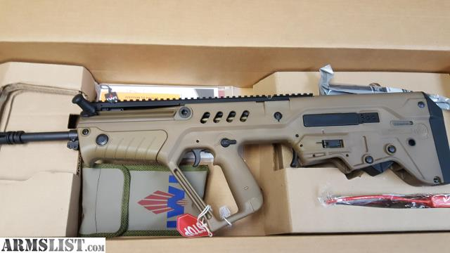ARMSLIST  For Sale MAPON SALE NIB IWI TAVOR SARFD18