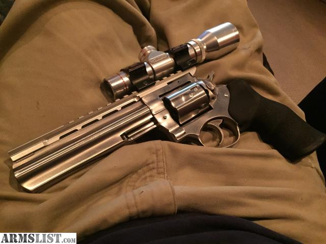"""ARMSLIST - For Sale: 6"""" Ruger GP100 - Stainless 357 mag"""