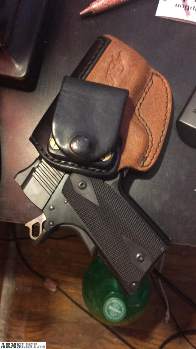 ARMSLIST - For Sale: Kimber ultra carry ii with leather ...