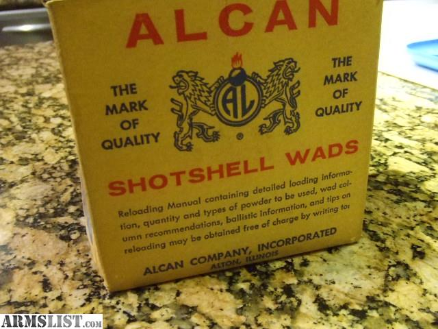 Armslist for sale trade cci 157 primers alcan over shot card wads