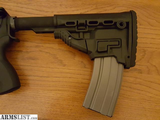 Ar Magazine Holder ARMSLIST For Sale Fab defense AR41 Stock with magazine holder 20