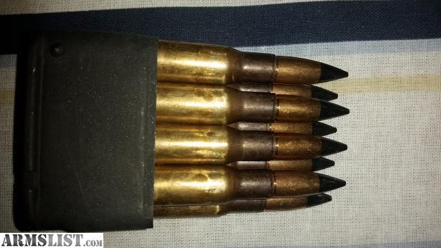 ARMSLIST - For Sale: 48 rd bandoleer of armor piercing AP ...