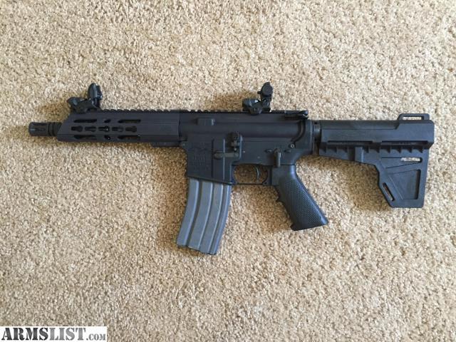 Armslist For Sale Anderson Ar15 Pistol 5 56 W