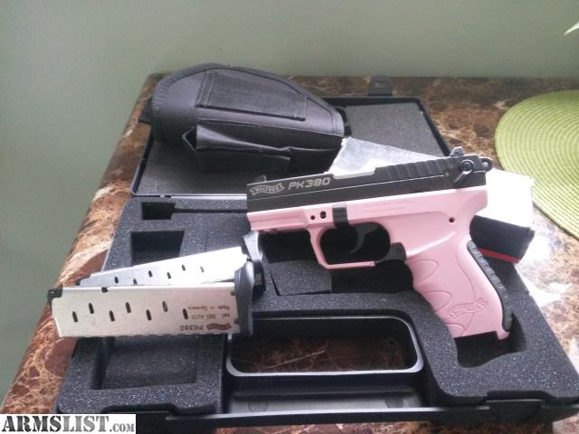 armslist for sale walther pk380 pink fullsize