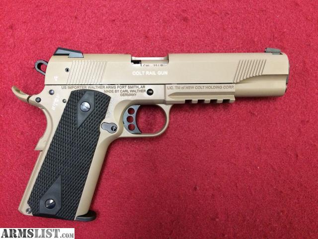 Columbus Ohio Sales Tax >> ARMSLIST - For Sale: Colt 1911-22 Rail Gun .22LR FDE Excellent condition