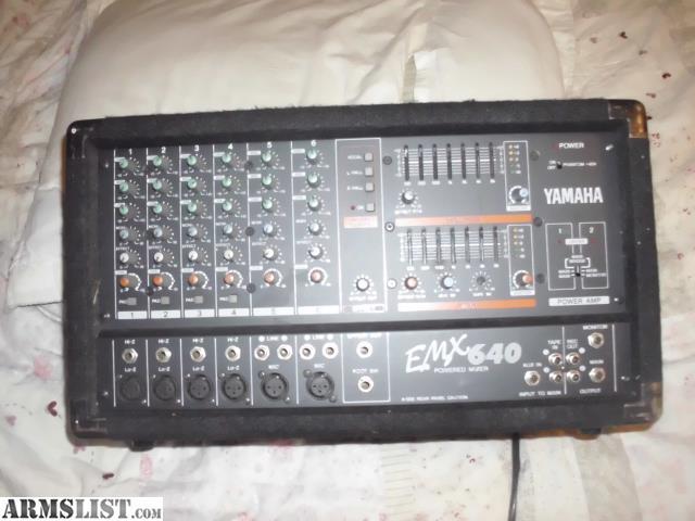 Yamaha Emxsc For Sale