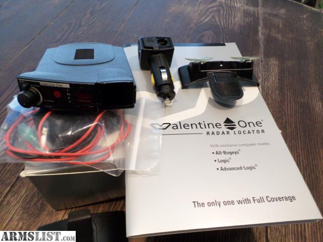 armslist for sale valentine one radar detector. Black Bedroom Furniture Sets. Home Design Ideas