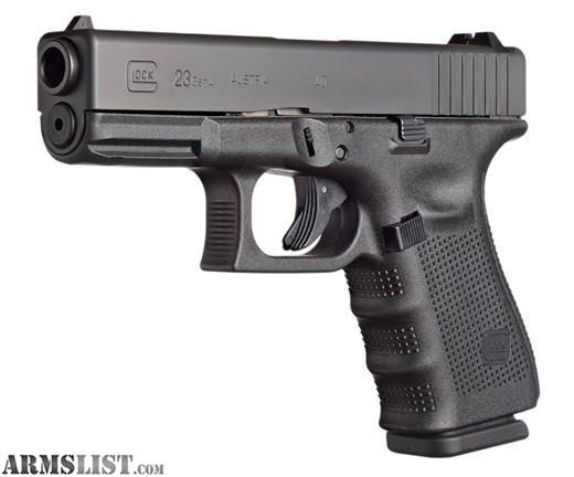 armslist for sale glock 23 gen 4 40 0s w. Black Bedroom Furniture Sets. Home Design Ideas