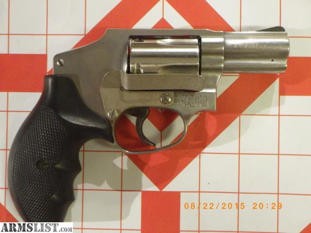 armslist for sale sw640 1 357mag 5 shot ss snubbie revolver