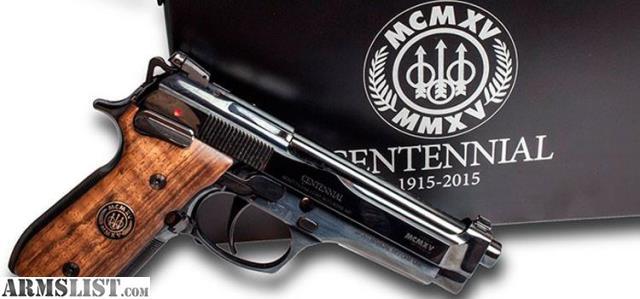 Armslist For Sale Beretta 92fs Centennial Ltd Edition