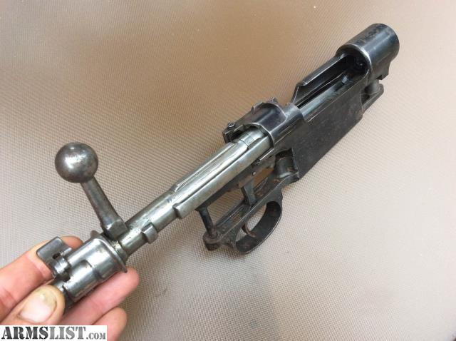 Large Ring Mauser Receiver For Sale