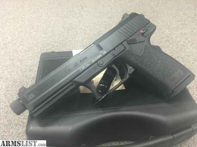 Armslist for sale hk mark acp threaded barrel handgun