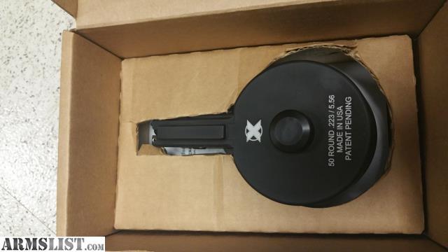 ARMSLIST - For Sale: X-15 ar15 drum mag