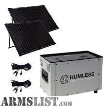 Armslist For Sale Nib Humless 1500 Solar Generator 2