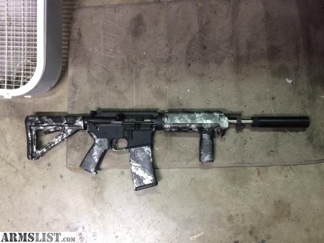 Armslist For Sale Trade Nice Ar 15 W Skulls Magpul Furniture