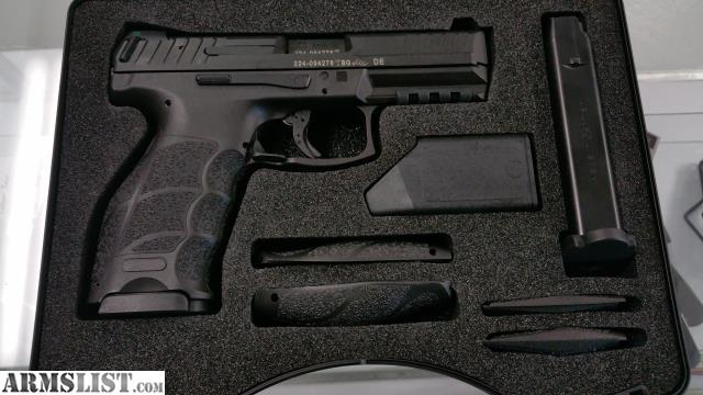 ARMSLIST - For Sale: HK VP9 9MM w/ TruGlo Night Sights, 2 15RD Mags ...