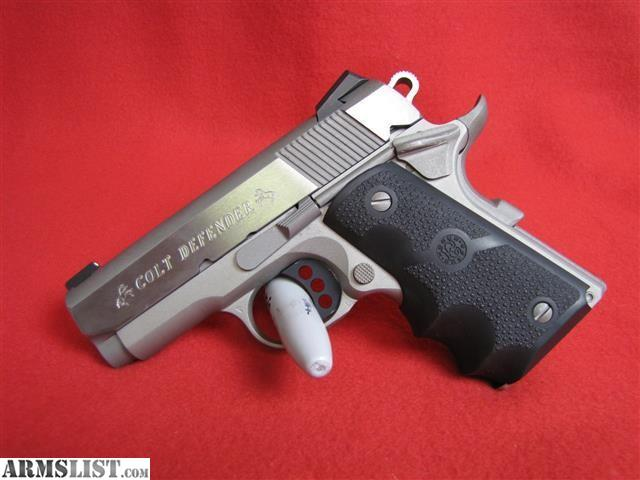 Armslist For Sale Colt Defender 9mm