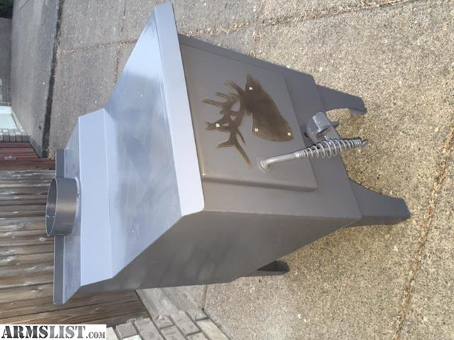 Have several newly fabricated wood stove for wall tents or small shops. The dimensions are 26 1/2  high in the front 28 1/2  in the back firebox is 18  ... & ARMSLIST - For Sale: Wood Stove for wall tent