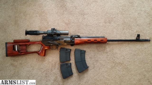 ARMSLIST - For Sale: VEPR + SVD clone + Real POSP Scope
