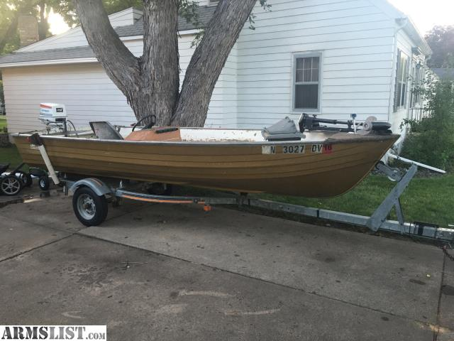 armslist for sale trade fishing boat
