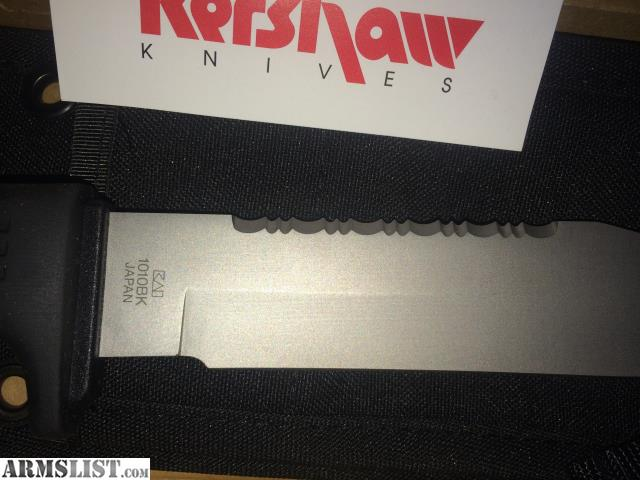 ARMSLIST - For Sale: Brand New Kershaw Hunting Knife Made in Japan ...