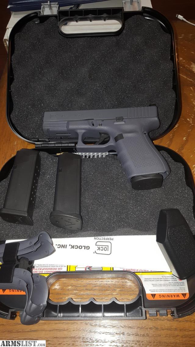 ARMSLIST - For Trade: Glock 19 gen 4 grey frame and slide