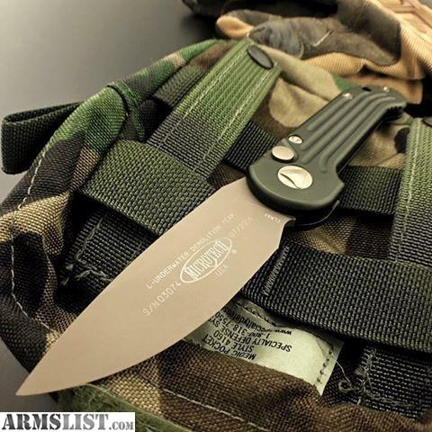 ARMSLIST - For Sale: Microtech LUDT OD green