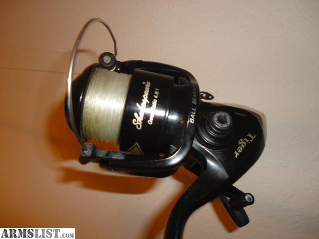 Armslist for sale 4 shakespeare salt water fishing rods for Fishing rods and reels for sale