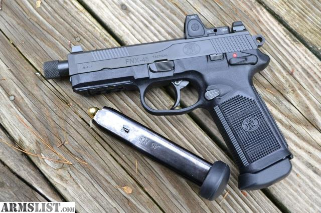 Armslist for sale fnx 45 tactical trijicon rmr