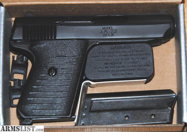 ARMSLIST - For Sale: Jimenez Arms JA 380,  380 Semi Auto NIB