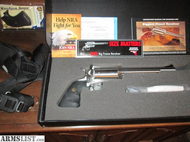 Armslist For Sale Mint Magnum Research 45 70 Bfr With Accessories