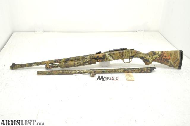 ARMSLIST - For Sale: Mossberg 500 Camo pump 12ga combo shotgun