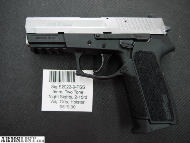 ARMSLIST - For Sale: Sig E2022-9-TSS
