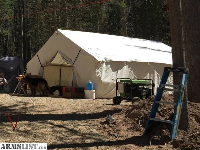 Armslist for sale trade 14 39 x 16 39 magnum canvas tent for Colorado canvas tent