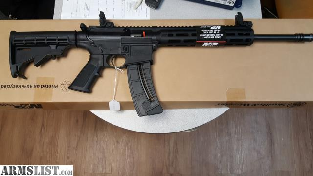 ARMSLIST - For Sale: NIB S&W M&P 15-22 SPORT SEMI AUTO ...
