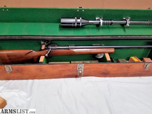 ARMSLIST - For Sale: Winchester Model 70 target rifle pre 1964