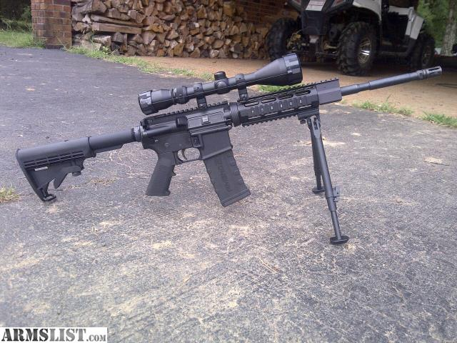 Armslist for sale ar 15 with scope bipod amp 3 clips