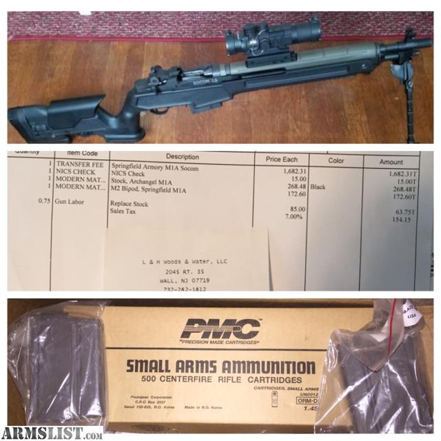 For Sale: Springfield M1A Socom 16 Archangel