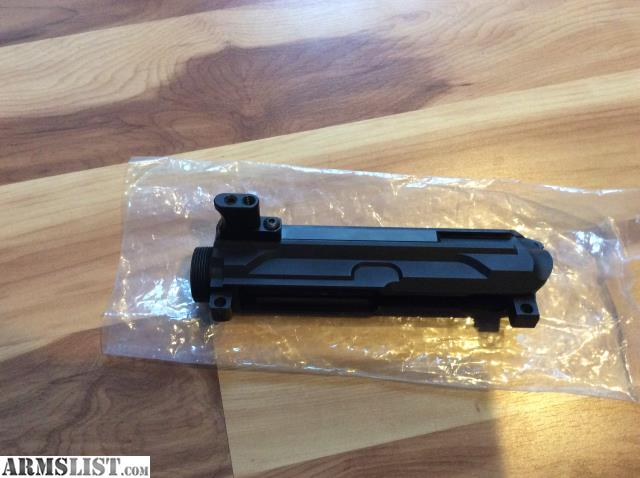 Non Reciprocating Side Charging Upper Receiver – Billy Knight