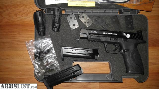 Armslist for sale trade m p performance core ported for M p ported core 9mm