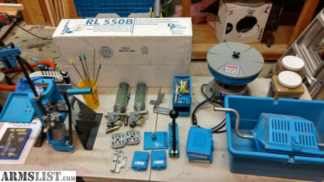 ARMSLIST - For Sale: Dillon 550 Reloading Press Package