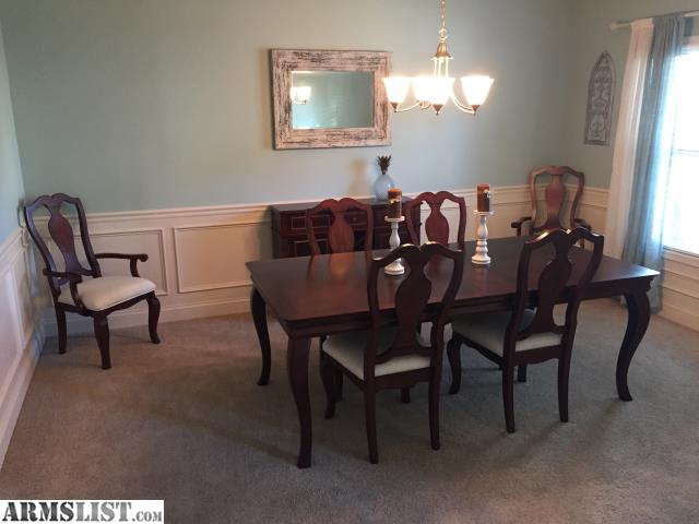 ARMSLIST For Sale Dining Room Table Chairs Buffet