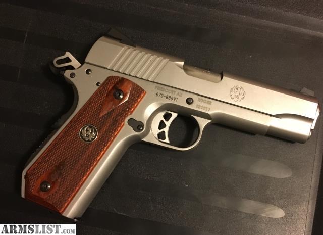 Armslist For Sale Trade Ruger Sr1911 Upgraded