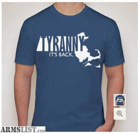 Armslist for sale t shirt fundraiser fight ma gun ban for T shirt fundraiser site